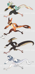 Running Grem by corycatte