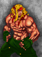Alex by Udon Colored by Duranial