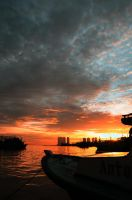 Muara angke harbour by FirstMeasure