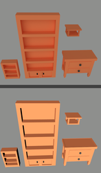 Low Poly Furniture by Trueform