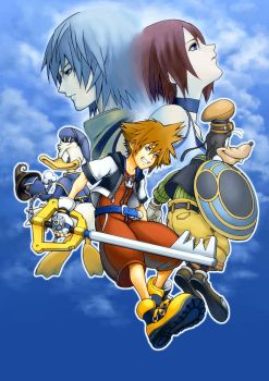 KINGDOM HEARTS by koutanagamori