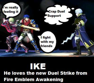 Ike Fights WITH his Friends Now by TheAnimeKnight