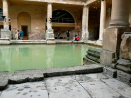 Roman Baths - Two by bristrek