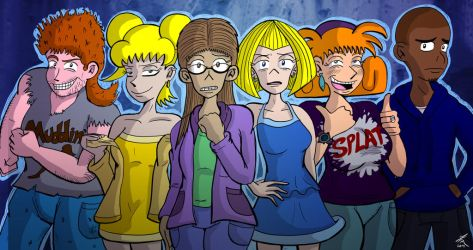 10 Years Later: Maria and Friends by JFMstudios