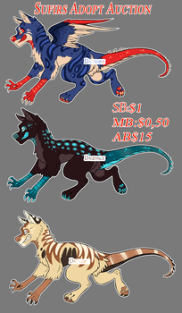 Sufirs - Adoptables [closed] by Dagernice