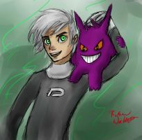 Danny and Gengar by RussianWallet