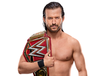 Adam Cole Universal Champion by BrunoRadkePHOTOSHOP