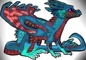 Feathered Dragon by LivingAliveCreator