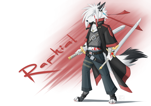 Swordsman by Raphial