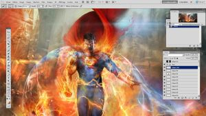 Superman WIP by CyrilT