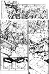 Transformers G1 page test by GuidoGuidi