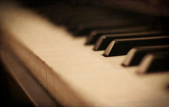 Piano Keys by Rocke313