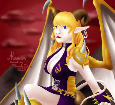 Mammon - Commission by 7Swords7Lives by NyaroKim