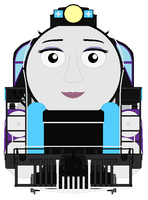 My Trainsona in Reading T-1 Form Front View by WynterStar93