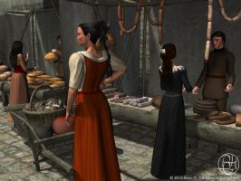 Interlude: Market Day by Norski