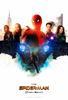 Spider-Man: Homecoming Poster 2 by CAMW1N