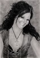 Anette Olzon by TheElvenpath