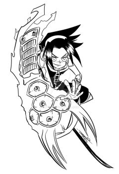 Shaman King Warm-up by Jey09