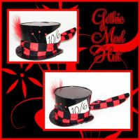 Mad as a Gothic Mini Hat by Lolanova