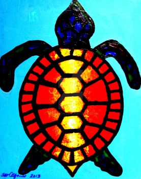 COLORFUL TURTLE by TEOFAITH