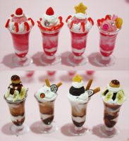 Yummy Parfaits by KralleCakes
