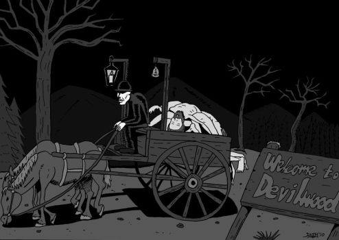 Death Cart by andyiverzzen