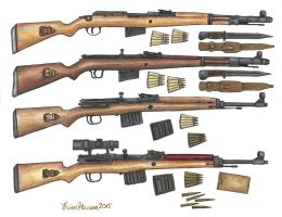 The Hitler Garand by stopsigndrawer81
