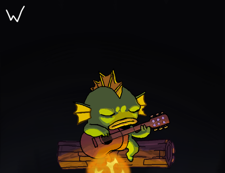 Nuclear Throne - Fish by WenexPL