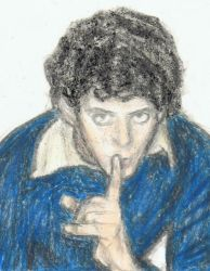 Lou Reed says shh by gagambo