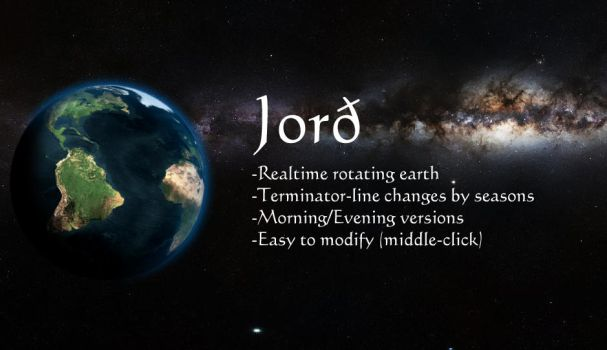 Jord - Rotating Earth (.rmskin) by Crosseout