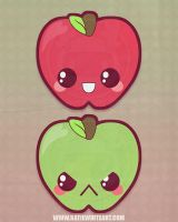 Two Apples A-Day by pai-thagoras