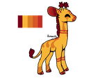 *CLOSED* OTA Giraffe by SweetZtea