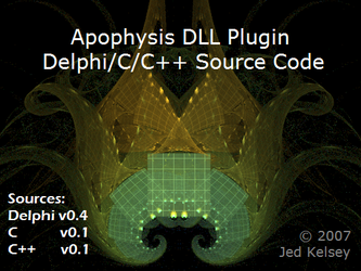 Apophysis DLL Plugin Sources by Lu-Kout