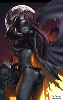 Goblin Queen - LAKE OF FIRE by PatCarlucci