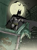 Gotham's guardian by Whaleshooter