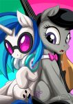 Vinyl Scratch and Octavia by mysticalpha