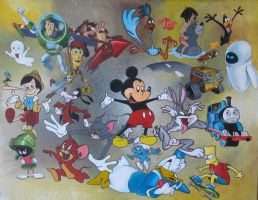 King Mickey by fourquods