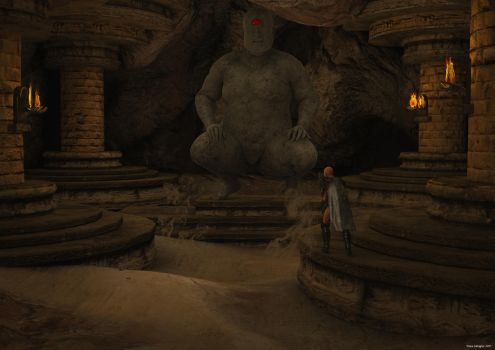 The lost temple of Chud  by ShaneGallagher