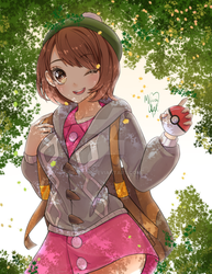 Pokemon Sword And Shield Female Protag Fanarts Favourites By