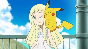Lillie finally touches another Pokemon by WillDynamo55