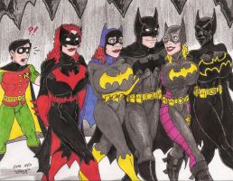 Batgirls by Crash2014