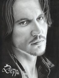 Johnny Depp 3 by D17rulez