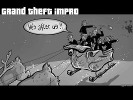 Grand Theft Christmas by mct421