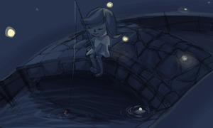 fishing wip by bunniebabe