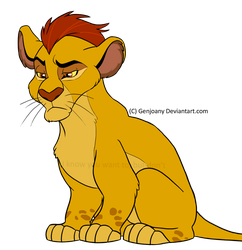 Mohawk lion coming your way! by GenJoany