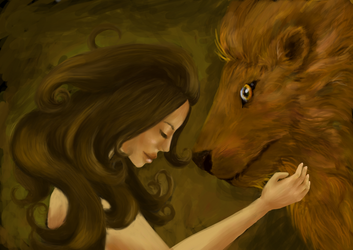 Of girls and lions by sofie-arts