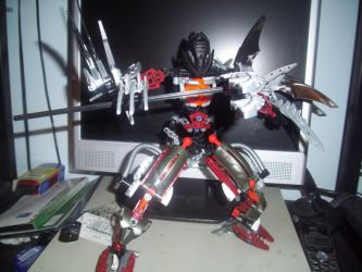 Ultra Makuta Teridax by couger49