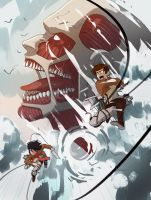Attack on Titans by The-Poumi