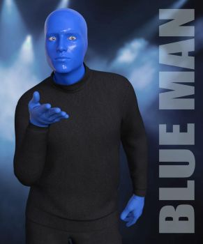 Blue Man by RenderHub