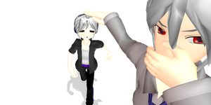 MMD Chibi Dell 3.0 (+50 Watchers! =D) by flopp18